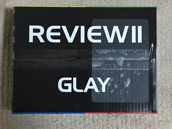REVIEW II -BEST OF GLAY-_楽天ブックス限定オリジナル配送BOX